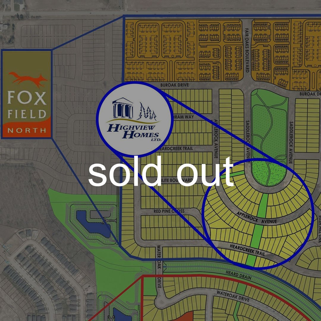 Fox Field North Phase is Sold Out
